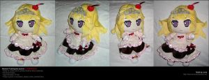Madolce Puddingcess plushie comm. by Neon-Juma