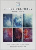 6 Free Textures: Sinners + Saints by mercurycode
