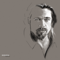Brad Pitt by dankershaw