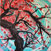Fiona's Cherry Blossom Tree by katerinaedwards