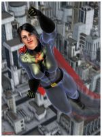 Soviet Superwoman: Skyward by tartanninja