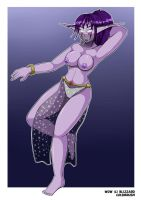 Belly dancer Nitalah by ColdBrush