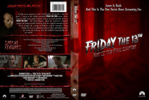 Friday the 13th Pt. 4 Custom DVD Cover by SUPERMAN3D
