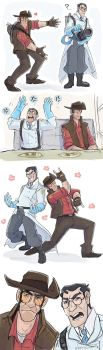 TF2- Draw your otp challenge Medic/Sniper by MadJesters1
