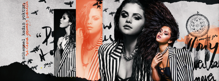+Selena Gomez Facebook Cover by GayeBieber94