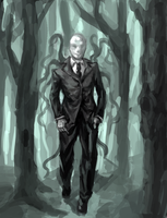 Slenderman by WorldPowers