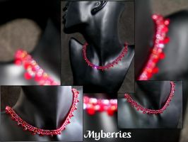 Necklace::Myberries by Herisheft
