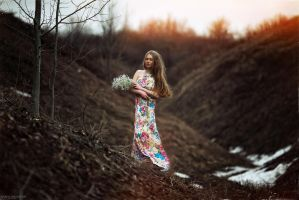 the arrival of spring by karen-abramyan