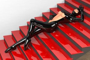 Latex Stairs by heveti