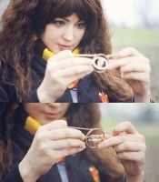Time traveler. Hermione, HP cosplay. by Giuzzys