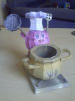 Finished papercrafts by SpottyBulboid