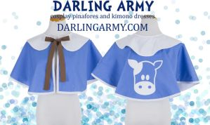 Lon Lon Milk Cosplay Capelet Legend of Zelda by DarlingArmy
