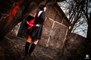 Ai Enma - Hell Girl by kaihansen3004