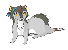 ferret character: Lismee by Lizzara