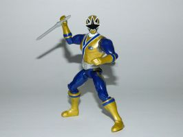 Samurai Gold Ranger Action Hero by LinearRanger