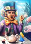 Mad  Hatter Illustration by AnthonyChristou