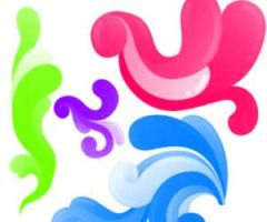 PS brushes: bold swirls by kakiii