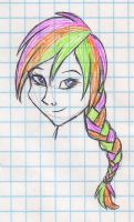 Multicolored Hair by mashaheart