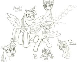 Twilight Sketch Dump by Scarecrow31