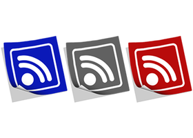 RSS Feeds Icons - Paper by neoworxspace