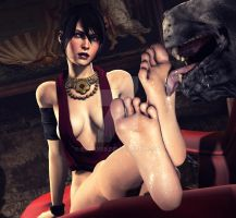 Fun with Morrigan by 69MAX69