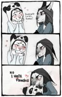 I HATE your PANDAS by REYKAT