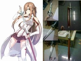 Asuna's Lambient Light Sword by karlonne