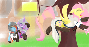 mlp - assassins creed crossover by scarlet-colored-moon