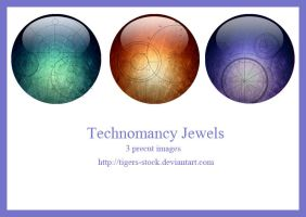 225 Technomancy Jewels by Tigers-stock