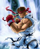 Ryu color test by ironwill-nelson