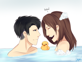 Bubble Baths and Rubber Ducks by IceValaxy