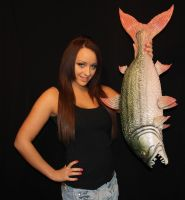 Latex Fish For Alton Towers by Artyfakes