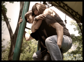 """""""Hold on tight,spider-monkey."""" by jKeeO"""