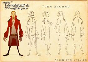 Temeraire turn around sheet by therealarien