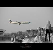 Cathay Pacific - plane viewing by hkboy