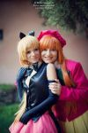 Saint Tail e Meimi - cosplay by Lydia3290