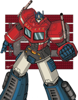 Optimus Prime 80s collection by alexss