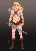[C] Jesse ad He Man Cosplay by lufidelis