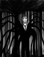 Slender Man by RedAppleCandy