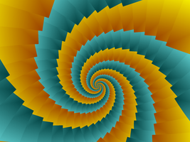 Corrugated Spiral by moonhigh
