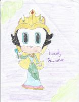 Maria-Lady Guinervere by CatsvsDogs123
