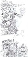 Dib's idea (comic) by KnockPainter