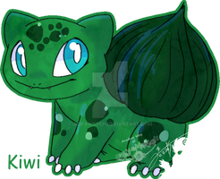Kiwi - Sticker by JB-Pawstep