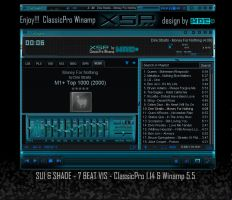 XSP -  Winamp-ClassicPro skin by d4fmac