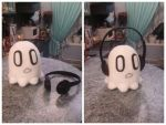 Napstablook Plush by Sioxanne