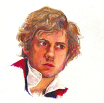 Enjolras by salamandertoast