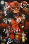 MAD MONSTER PARTY by woodywelch