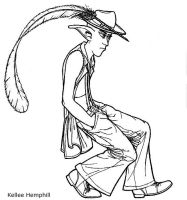 The Zoot Suit Elf by KelHemp