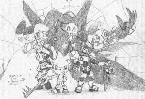 Pencil-Works45 by Kainsword-Kaijin