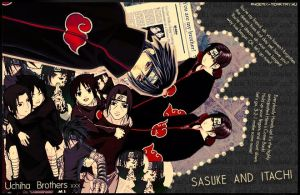 Uchiha Brothers. by sharingan-on